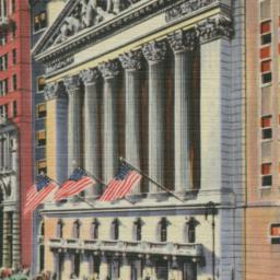 New York Stock Exchange, Wa...