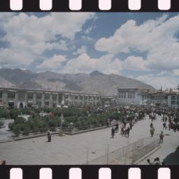 Tibetan demonstrators in Ba...
