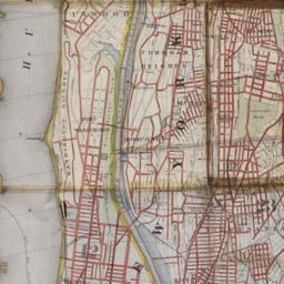 Map of upper New York city ...