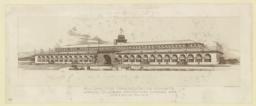 Building for Transportation Exhibits. World's Columbian Exposition, Chicago, 1893. Adler & Sullivan, Architects
