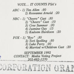 Vote… It counts