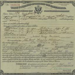 Certificate of naturalizati...