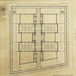 A. Fourth floor plan. New M...