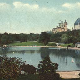 Yacht Lake, Central Park, N...