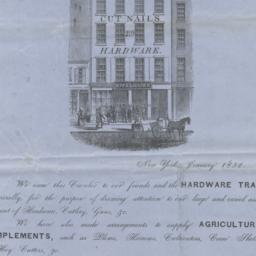 Howe, Brown & Co. letter