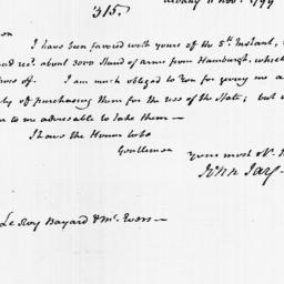 Document, 1799 November 11