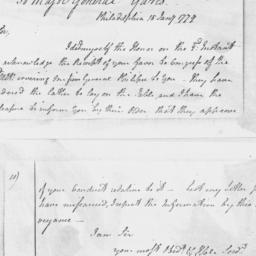 Document, 1779 January 15