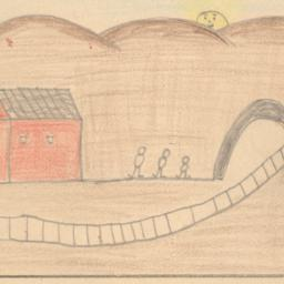 Drawing Of Train Track