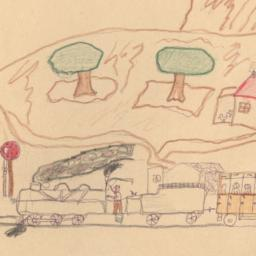 This Drawing Shows An Evacu...
