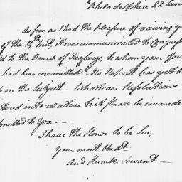 Document, 1779 June 22