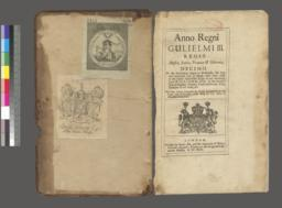Inside front cover and title page