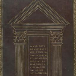 De mysteriis Aegyptiorum, C...