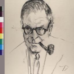 Portrait of Bennett Cerf