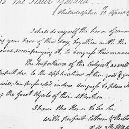 Document, 1779 April 25