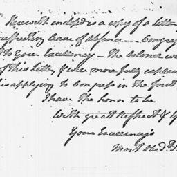 Document, 1779 August 08