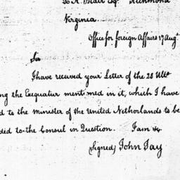 Document, 1785 August 17
