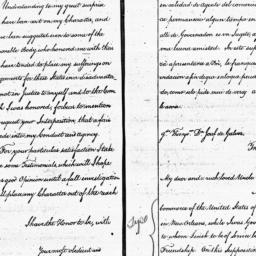 Document, 1785 July 07