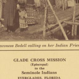 Deaconess Bedell Calling on...