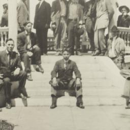Large Group of Men Posing i...