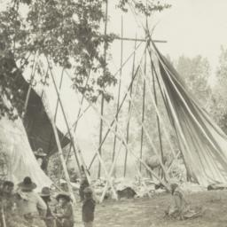 Semi-Covered Tipis with Kal...