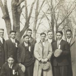 Group of  Men Standing Near...