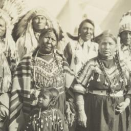 Group of  American Indian M...
