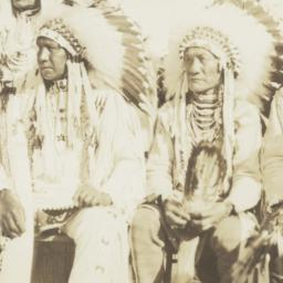 American Indian Men in Trad...