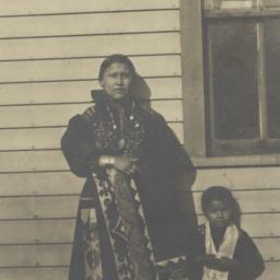 Young American Indian Woman...
