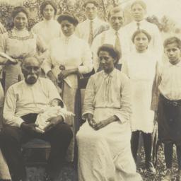 Family on the Onondaga Rese...