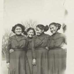 Cheyenne Indian Girls in 19...