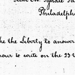 Document, 1785 October 04