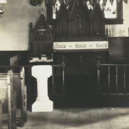 Interior of Holy Name Episc...