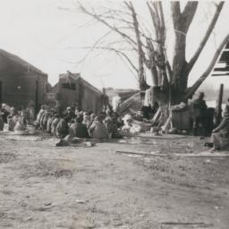 Yakima Woman Eating a Funer...