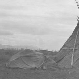 Tipi and Short Dome Tent