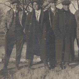 Six Men, Dressed Handsomely...