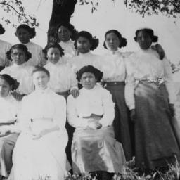 Group of Women beneath a Tree