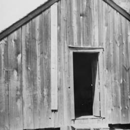 Wooden Building with an Ope...