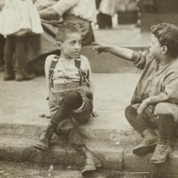 Boys on a Curb
