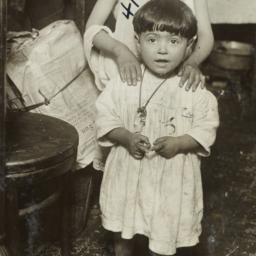 Barefoot Child with Sister