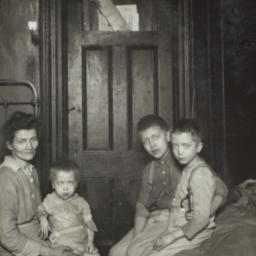 Mother with Three Children ...