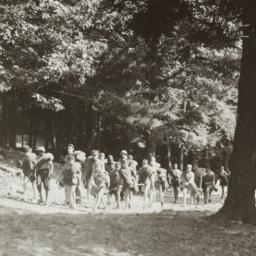 Children Walking at Summer ...