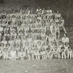 Group of Campers Seated on ...