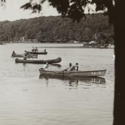Boys in Canoes