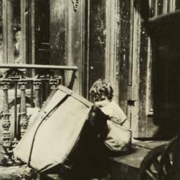 Child with Barrel