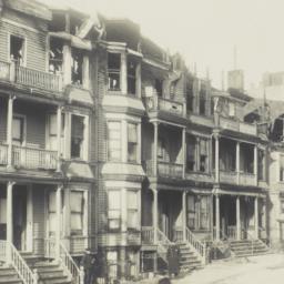 Burned Buildings on Eagle A...