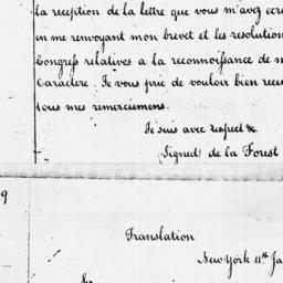 Document, 1786 January 11