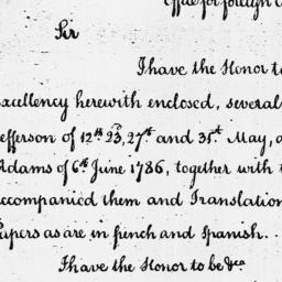 Document, 1786 August 01