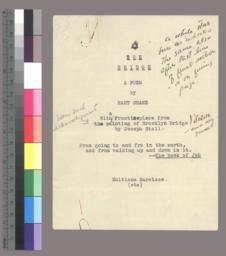 Title page, manuscript