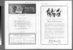 program for 9 January 1919,pp. 14-15