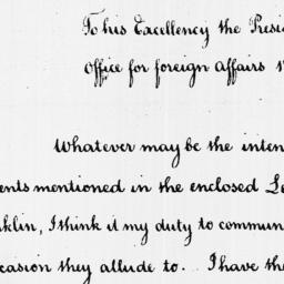 Document, 1788 April 01